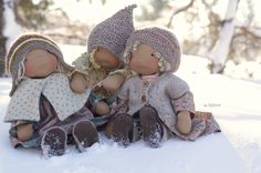 Could these dolls be any more gorgeous?  They make me happy.  fig&me is a gorgeous website with unbelievable dolls.