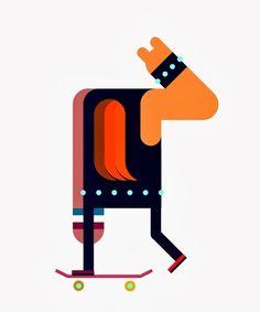 nuncalosabre.Diseño e Ilustración - Robin Davey