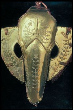 Testera de caballo turca otomana, siglo XVI.