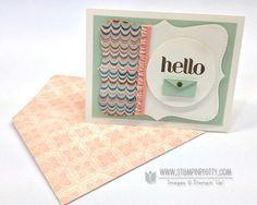 Hello with mini envelope