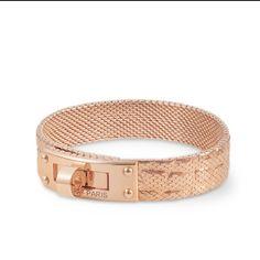 Hermes Kelly Rose Gold bracelet