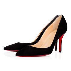 Women Shoes - Apostrophy  Veau Velours - Christian Louboutin