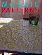 mosaico - mesa quadrada verde/branca
