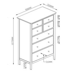 BuyJohn Lewis Essence Wide 7 Drawer Chest of Drawers, Oak Online at johnlewis.com