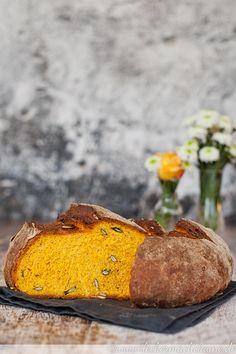 Extrem leckeres herbstliches Brot: Kürbisbrot.