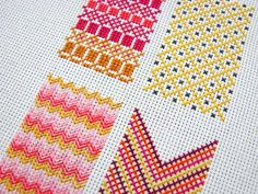 Embroidery by Abbey Hendrickson (via decor8 http://decor8blog.com/2011/03/07/happy-monday-inspirations/)