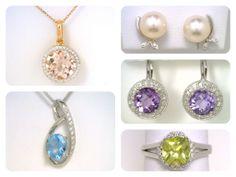 Gemstone jewellery from H. Williams Jewellery in Pearl Earrings, Drop Earrings, Gemstone Jewelry, Spring Fashion, Jewels, Jewellery, Gemstones, Watches, Inspiration
