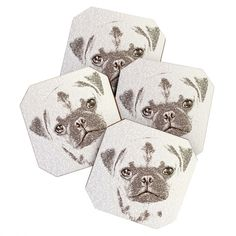 Belle13 The Intellectual Pug BlingBox Petite | DENY Designs Home Accessories