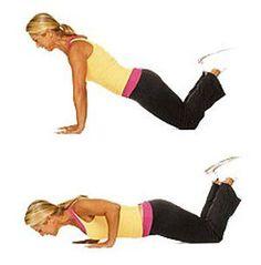 reducir la flaidez de los brazos con ejercicios