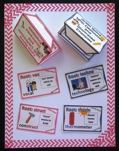If you need common core activities for Greek and Latin Roots, this might be just right for your kiddos! This is actually five of my products... $