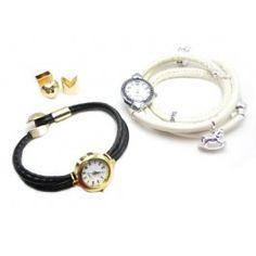 Lav selv dit eget flotte armbånds ur, se hvordan du gør og du kan også købe dine materialer online hos os: http://www.janehof.dk/armbnd/6052-ur-med-randsyet-lav-selv-se-flere-foto.html