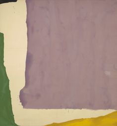 Mauve District  Helen Frankenthaler (American, 1928–2011) 1966. Synthetic polymer paint on canvas