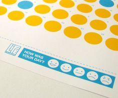Emoticon Calendar Helps You Keep Track
