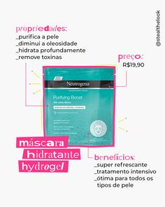 Neutrogena, Detox, Boarding Pass, Skincare, Face Masks, Winter, Moisturizer, It Works, Mascaras