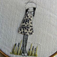 simple embroidery/applique combo