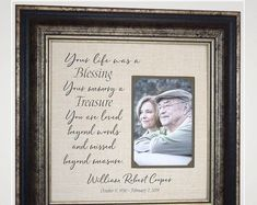 www.PhotoFrameOriginals.com Thank You Gift For Parents, Wedding Thank You Gifts, Wedding Gifts For Parents, Mother Of The Groom Gifts, Mother In Law Gifts, Father Of The Bride, Bride Gifts, Burlap Wedding Decorations, Anniversary Party Decorations