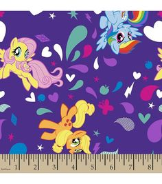 Hasbro® My Little Pony® Print Fabric-Ponies