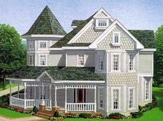 Simple dream houses architecture design simple house pleasing simple dream house design bungalow . simple dream houses home exterior Victorian House Plans, Victorian Farmhouse, Victorian Design, Victorian Homes, Modern Victorian, The Plan, How To Plan, Two Story House Plans, Country House Plans