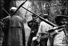 Leonard Freed, Hunting party from Black Charleston. An organized hunting party, the well-to-do of the community, out for a weekend hunt, South Carolina, USA, 1963. © Leonard Freed/Magnum Photo