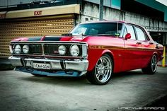 ◆ Visit MACHINE Shop Café... ◆ ~ Aussie Custom Cars & Bikes ~ Ford XY Falcon GT Phase 3 GTHO. Considered as the World's Fastest Production Car at the Time (1969)