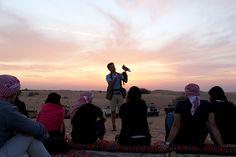 Dubai Falconry at sunset  #desert #safari #dubai