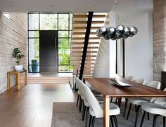 West Vancouver Residence is a private contemporary home situated in British Columbia, designed by Claudia Leccacorvi of Raven Inside Interior Design.