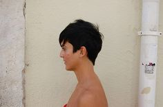 cute short hair   Flickr - Photo Sharing!