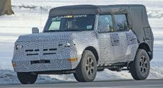 2021 Ford Bronco Finally Puts On Production Body Reveals Removable Roof And Other Details The Last Time We Saw The All New 2021 Ford B Ford Bronco Ford Car