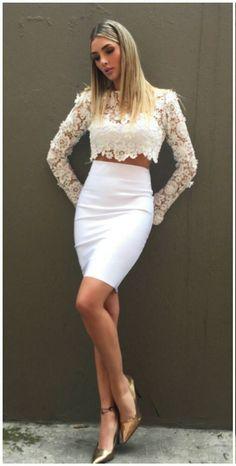 Melina Ramirez, Waist Skirt, High Waisted Skirt, Olivia Culpo, Irina Shayk, Alessandra Ambrosio, Skirts, Hair, Woman