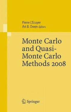 Monte Carlo and Quasi-Monte Carlo Methods 2008