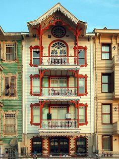 A beautiful mansion of Bosphorus, Istanbul, Turkey.