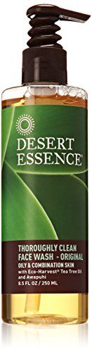 Desert Essence Thoroughly Clean Face Wash - Original -- 8... https://smile.amazon.com/dp/B00C0TI114/ref=cm_sw_r_pi_dp_x_ZZGKybM645TDS