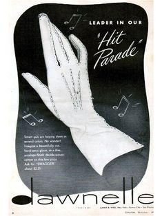 """How can you not love a 1940s glove with a style name like """"Swagger""""?"""