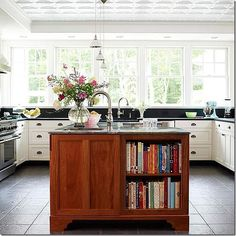 cook book storage! dream-home