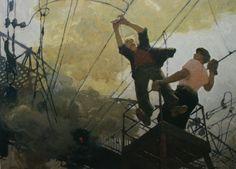 Виктор Попков - «Молодость», 1957 Soviet Art, Composition, Illustrations, Tattoo, History, Gallery, Painting, Roof Rack, Painting Art