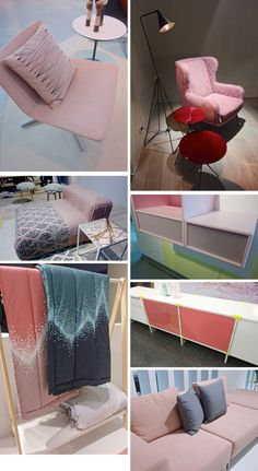 PINK pink_decor8trend Above: Arper | Baxter | GandiaBlasco | Montana | Normann Copenhagen | Pension | Softline