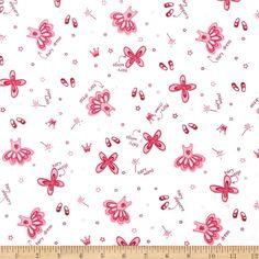 Cotton Jersey Knit Children's Ballerina, Tutus & Slippers Pink/White