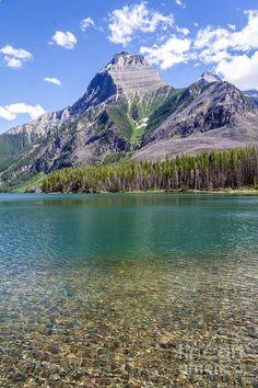 Upper Kintla Lake - Glacier National Park, Montana