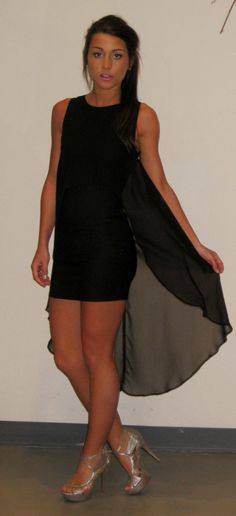 Little Black Hi-Low Dress