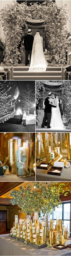 This wedding is one of my all time favorites! I absolutely love snow and taking pictures in it can...