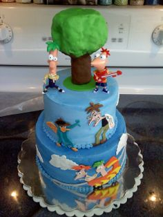 phineas and ferb birthday cakes - Bing Images