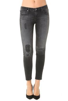AG Jeans Official Store, The Legging Ankle - Mantra Mend, mantra mend, Women's the Legging Ankle, DBD1389