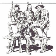 Tex Willer, Kit Carson, Kit Willer, Tiger Jack