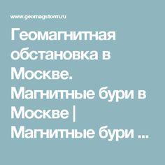 Геомагнитная обстановка в Москве. Магнитные бури в Москве | Магнитные бури и здоровье