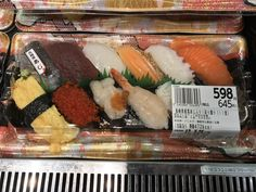 $6 usd for quality nigiri at a local japanese grocery store #sushi #food #foodporn #japanese #Japan #dinner #sashimi #yummy #foodie #lunch #yum