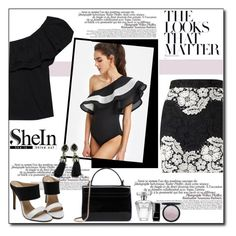 """""""Shein Ruffle"""" by polybaby ❤ liked on Polyvore featuring La Femme, Sincerely, Jules, Miss Selfridge, Avon and Chanel"""