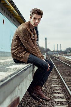 City/West feat. Christian Feuerbacher by Tobias Herrmann for Male Model Scene