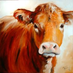 painting a cow - Google Search