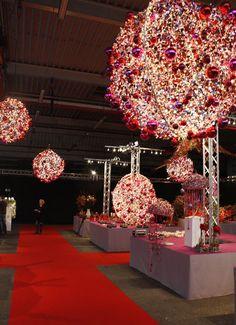 Weihnachtsdekoration Messe Hamburg - christmas decoration fair Hamburg