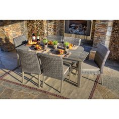 7 Piece Winchester Patio Dining Set